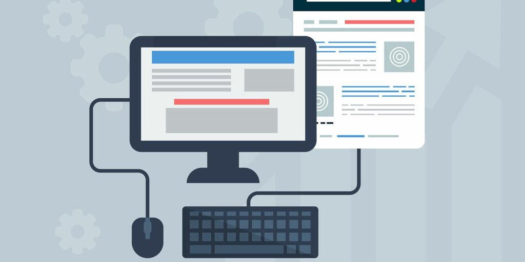 Webdesign graphic
