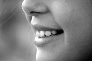 Female smiling