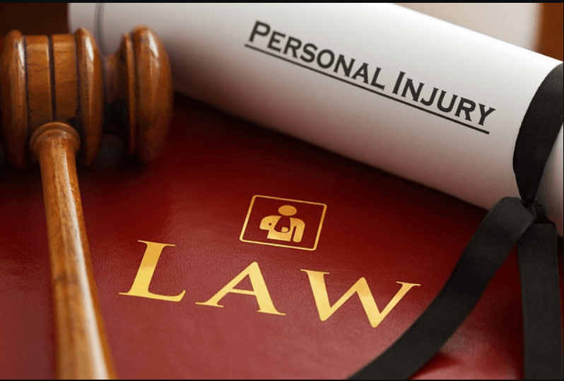 Gavel Law Book and Personal Injury