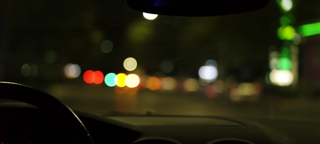 reflection-of-road-lights