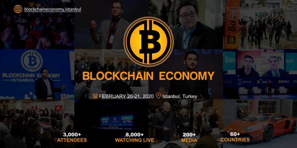 Blockchain economy Istanbul banner