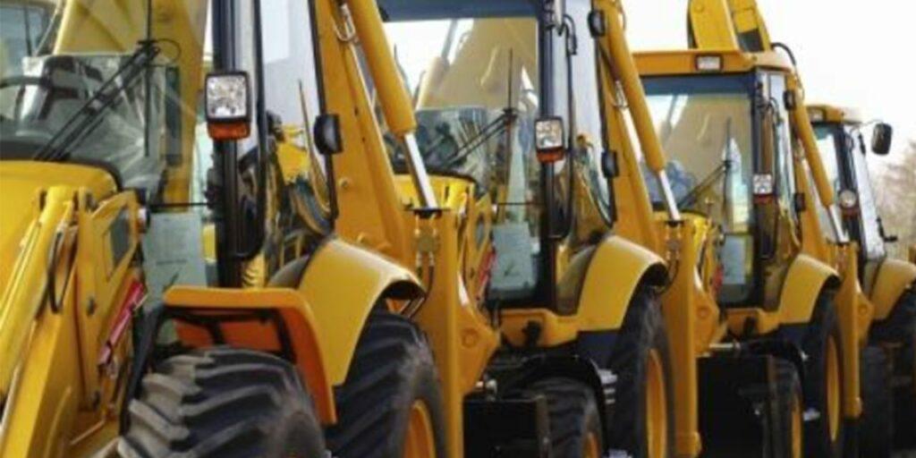 trucks and heavy equipment