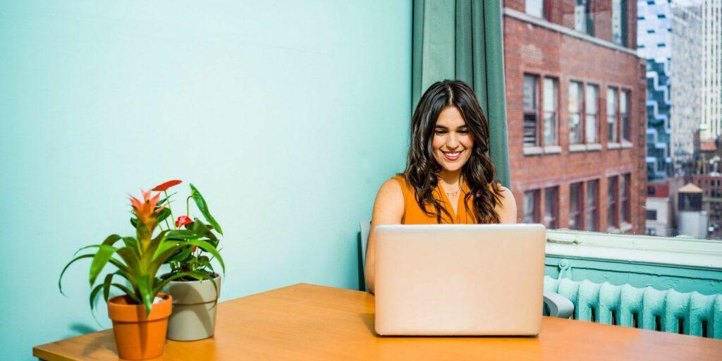 girl skype interview