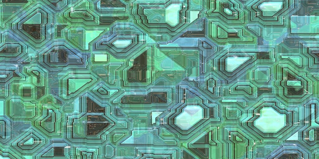 techno line form shape design technology modern