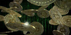 bitcoin coins virtual currency finance cash