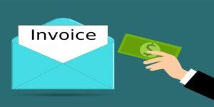 invoice bill envelope money