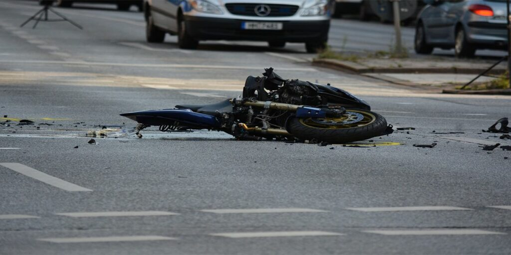 motorcycle accident road traffic death risk