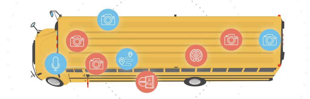 stop arm safety camera technology on bus
