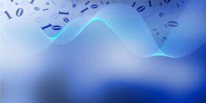 technology tech blue business abstract