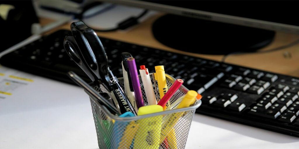 office pens write office accessories keyboard writing tool