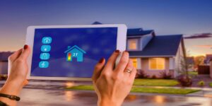 smart home house technology multi media tablet