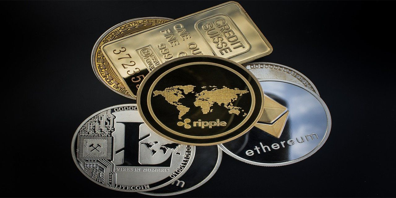 Cryptocurrency Coin Blockchain Money Ripple