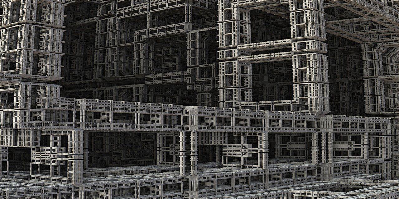 Fractal 3D Construction Industry Design Build