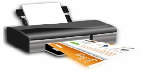 print printer printing device output paper