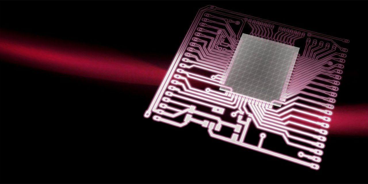 processor chip board background 3d blender