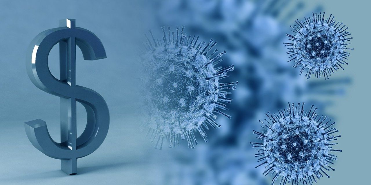 virus money coronavirus covid-19 infection cost