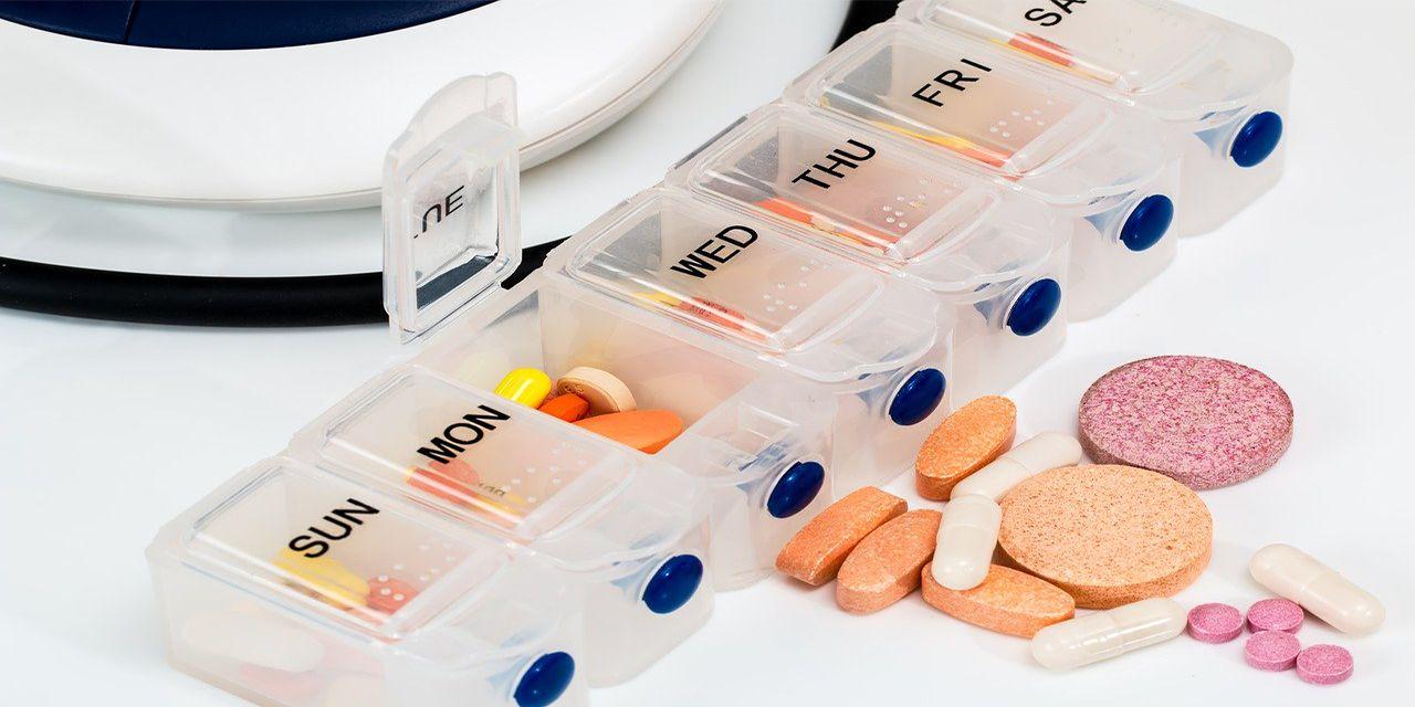 medicines pills pillbox
