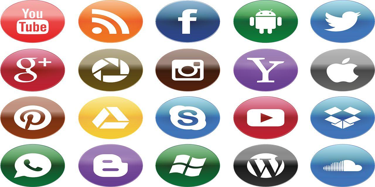 social media youtube facebook communicate