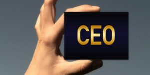 business card ceo the chief executive officer