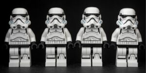 Lego Storm Troopers