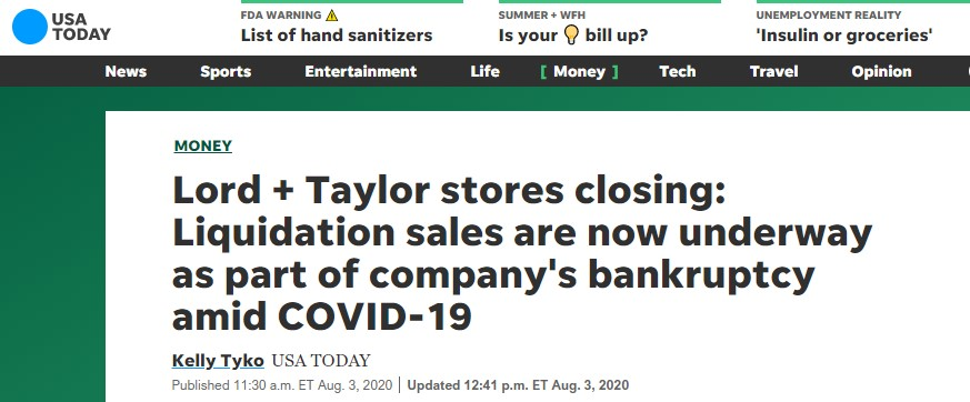 Screenshot USA Today