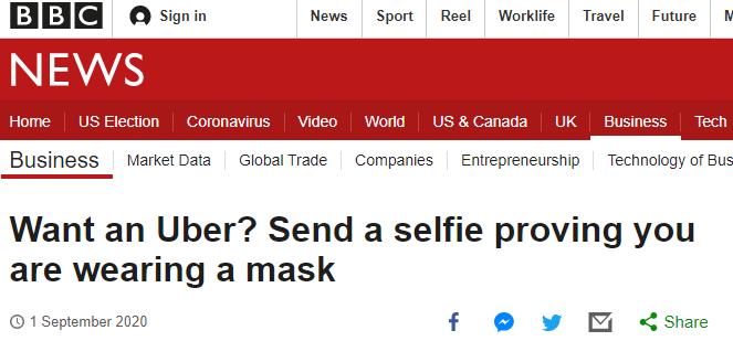 Screenshot by BBC News