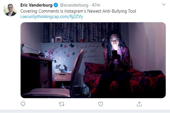 Screenshot from Eric Vanderburg's Twitter