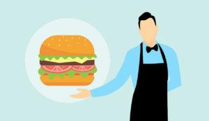 burger eat meal food hamburger fast lunch eating