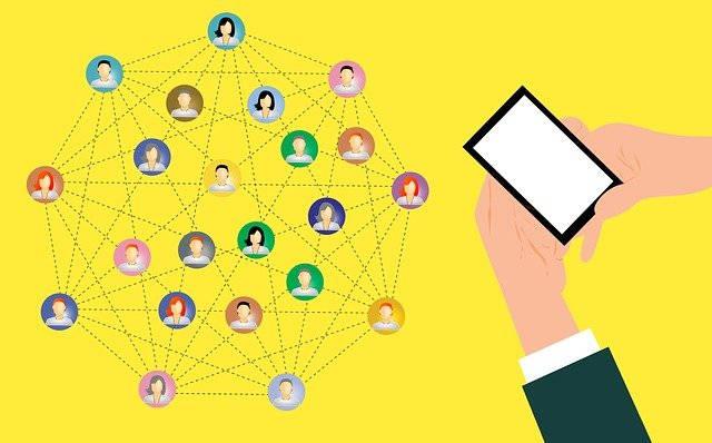 network digital marketing share mobile social media