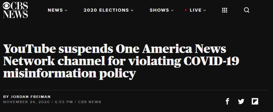 Screenshot from CBS News