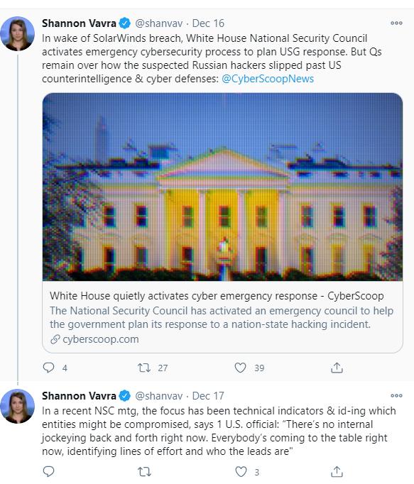 Screenshot from Shannon Vavra's Twitter