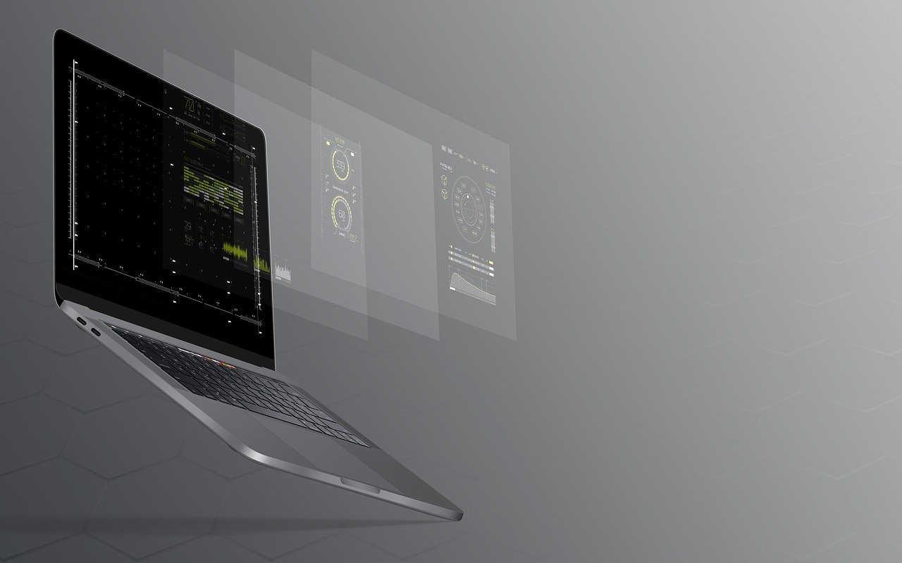 laptop notebook macbook pro work technology