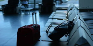 airport travel traveller business suitcase