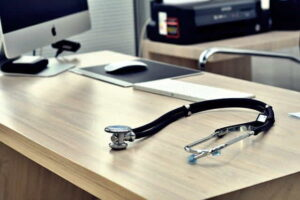 stethoscope doctor office healthy