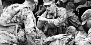 US military troop