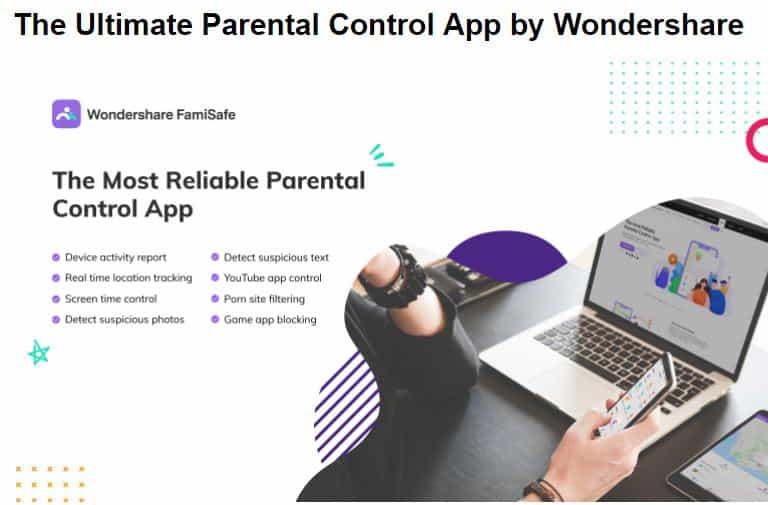 The Ultimate Parental Control App by Wondershare