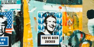 zuckerberg graffiti by annie spratt