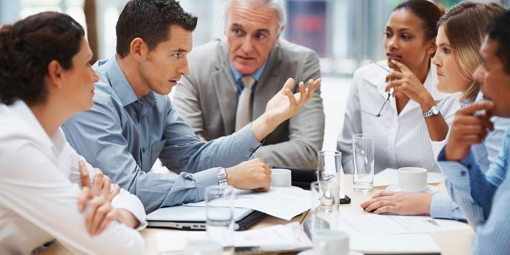 business meeting meeting business office team