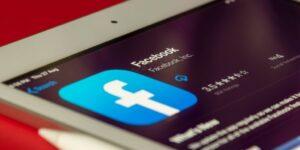 facebook app on smartphone