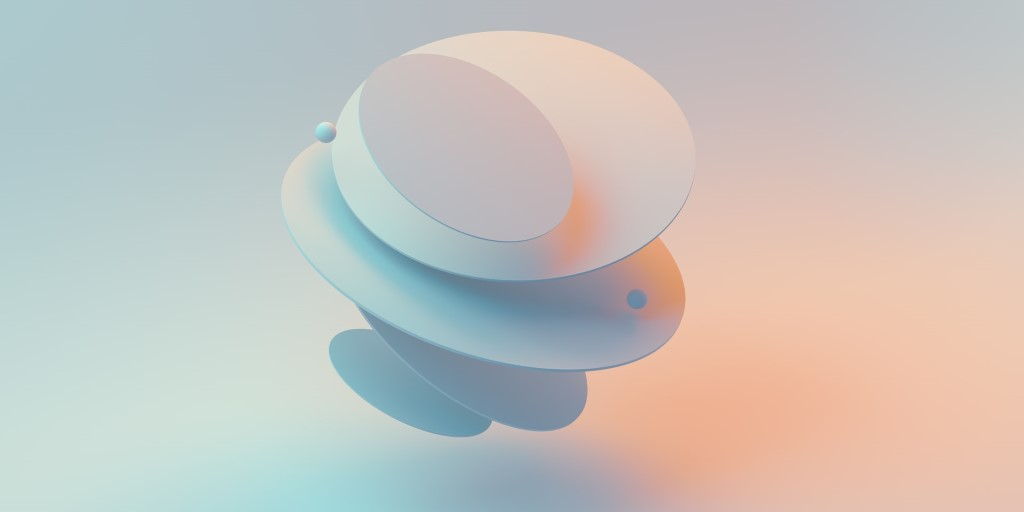 minimalistic 3D rendering wallpaper in 8K resolution