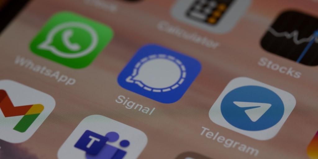 telegram iphone screen mobile phone