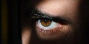 Eye Eyes Dark Watching Observing Vigilant Seeing