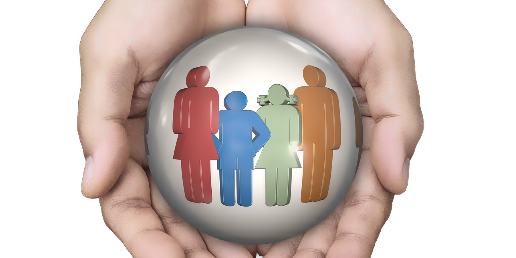 Family Health Hands Security People Group