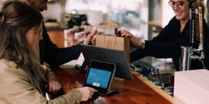 Fintech Cashier Pay Purchase Payment