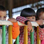 Myanmar children locked up for their parent's political beliefs