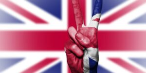 United Kingdom Uk Great Britain Peace Hand Nation