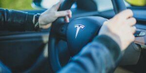 Tesla Steering Wheel Model 3 Driver Driving