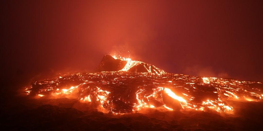 Drone Company to Rescue Dogs Trapped by La Palma Volcano Eruption